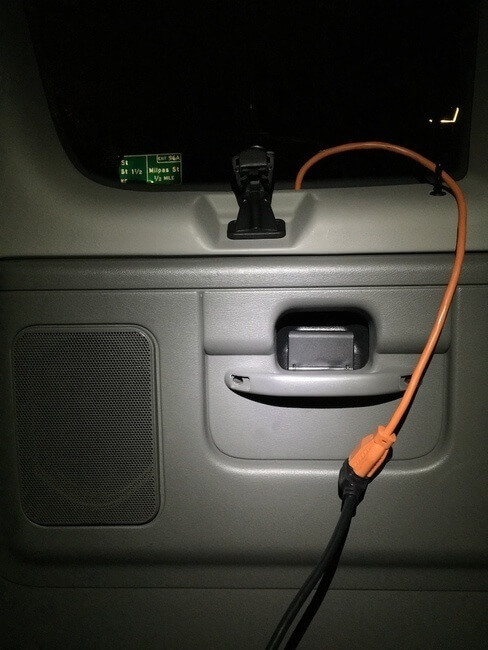 extension cord hack campervan life