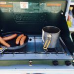 campervan cooking stove coleman