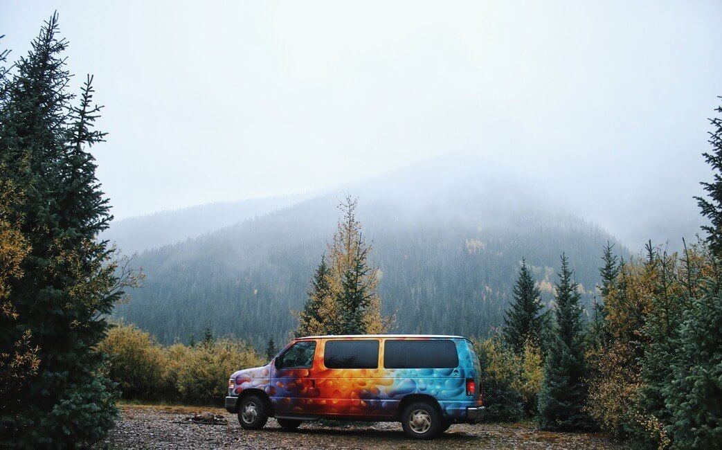 Dispersed Camping in the US campervan