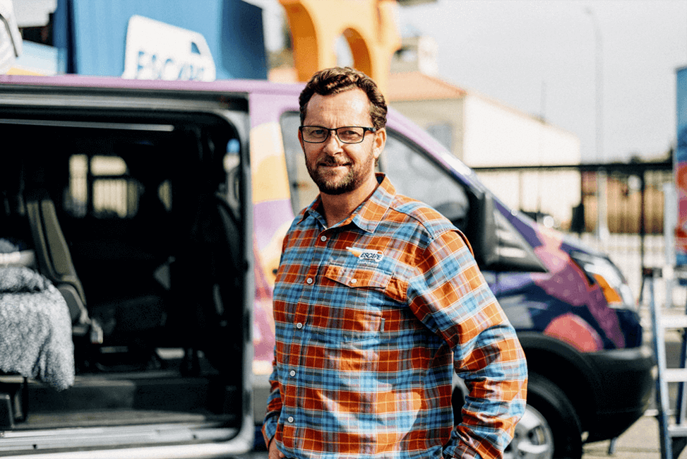 Escape Campervans Founder Rob Mewton