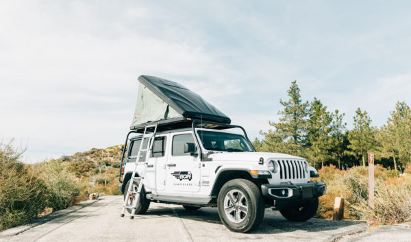 4x4 overland rooftop jeep camper